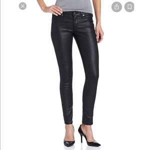 Rich & Skinny black coated jeans